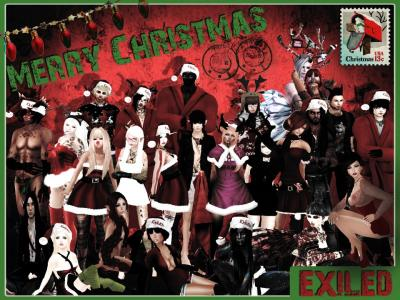 Exiled Christmas Picture